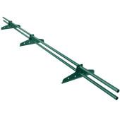 Снегозадержатель трубчатый универсальный RAL 6005 Зеленый мох 3 м